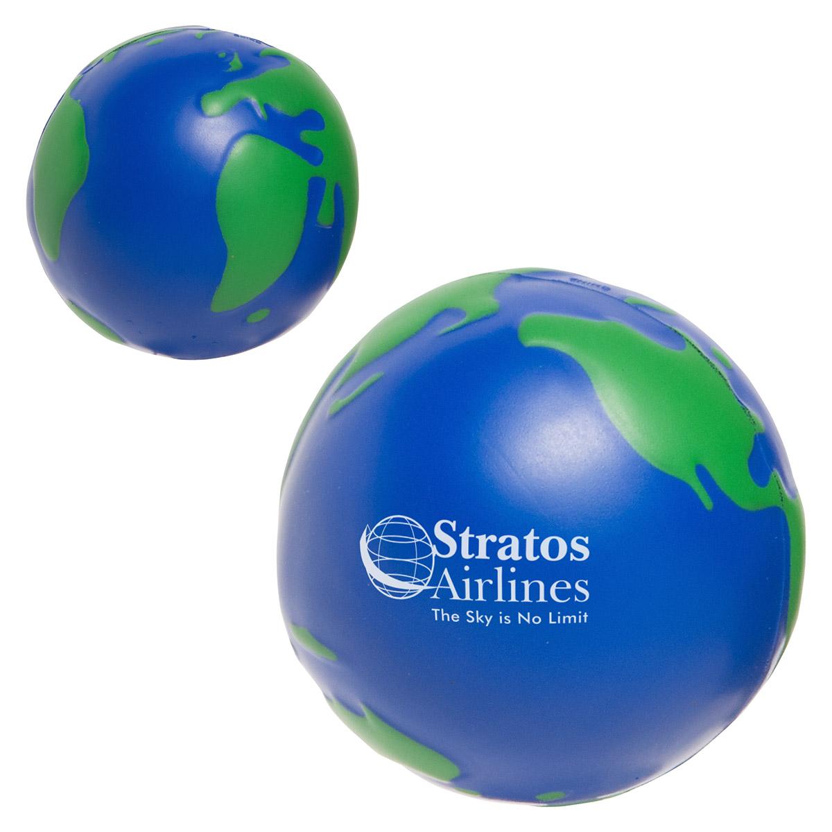 balle anti-stress : planète terre