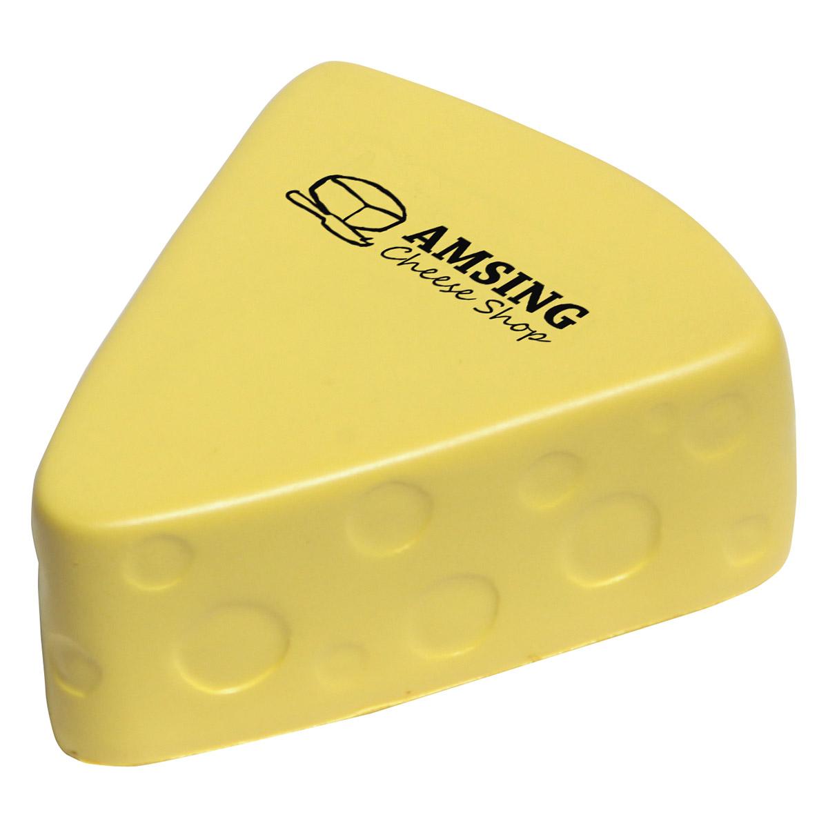 balle anti-stress en forme de fromage