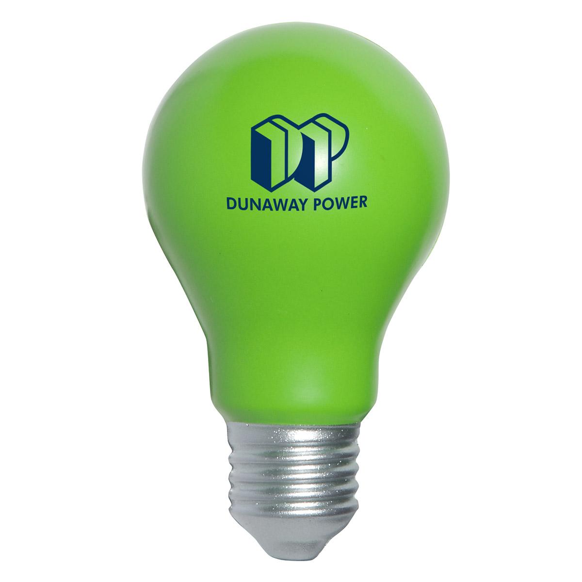 balle anti-stress : ampoule