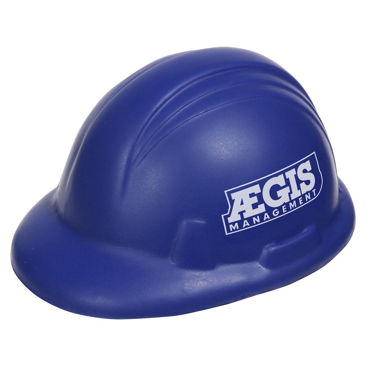balle anti-stress : casque de sécurité
