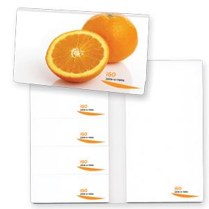 carnet exécutif avec tablettes à feuilles adhésives multiples