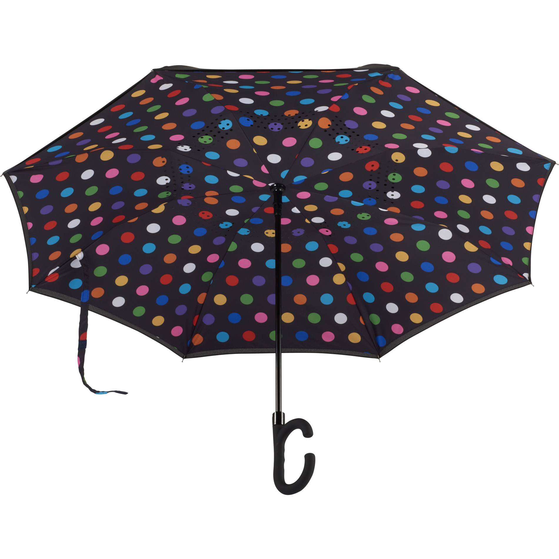 Parapluie réversible 48\'\'