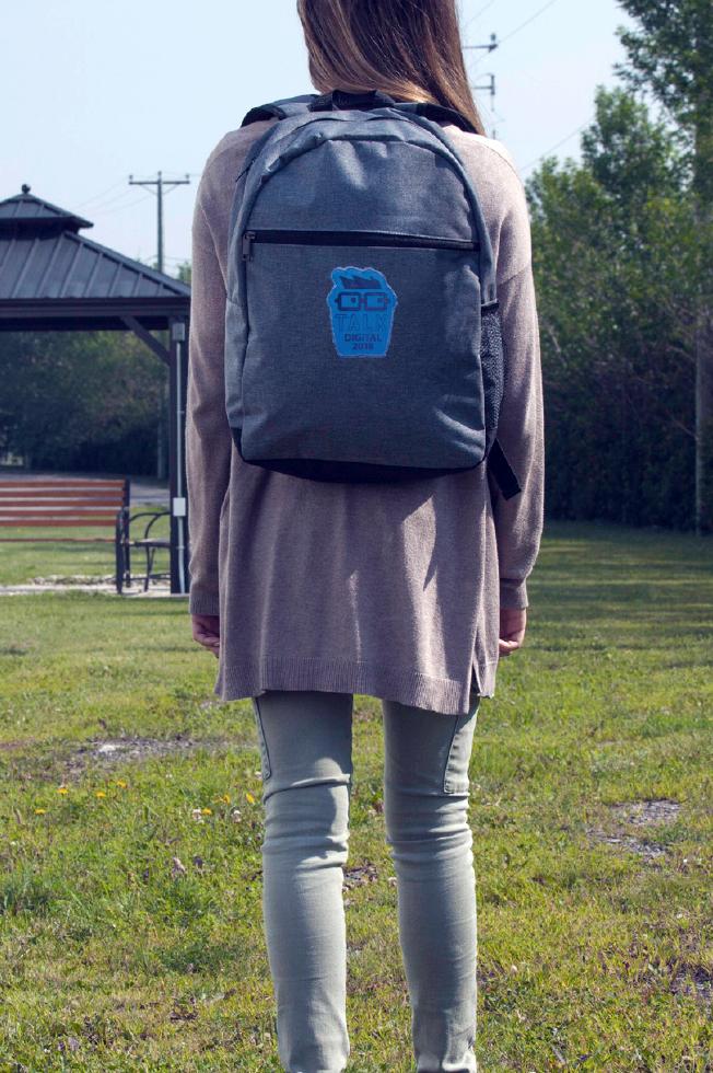sac à dos à devant plat