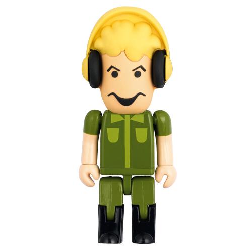 clé usb personnages avec tête en caoutchouc  512Mo ~ 8Go
