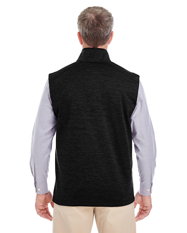 veste sans manche en molleton à motif mélangé