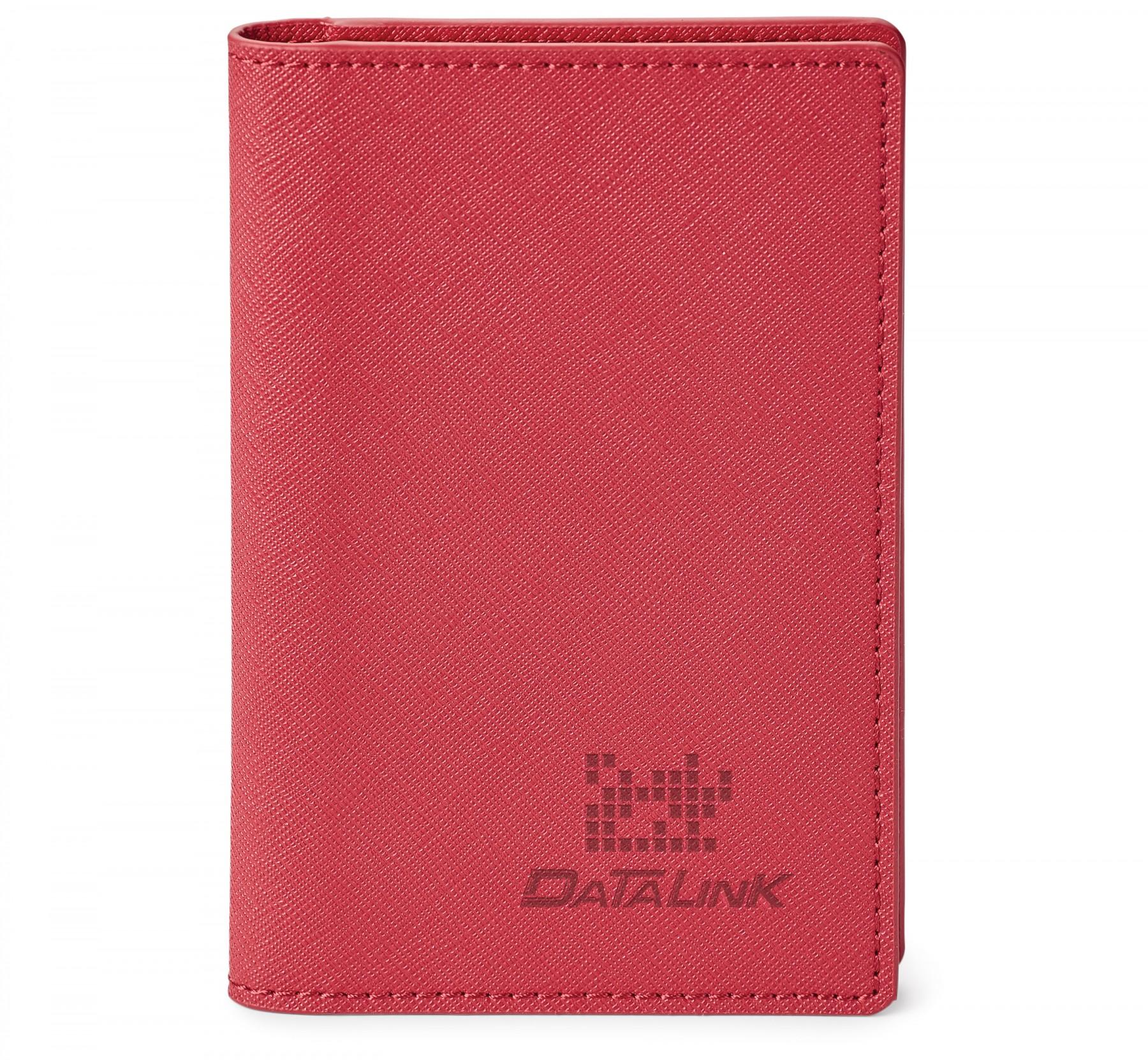 Porte-passeport en cuir véritable avec RFID