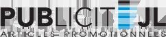logo publicité JL articles promotionnels