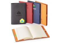 Journal rechargeable en cuir véritable