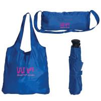combo parapluie avec sac réutilisable