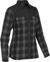 chemise à carreaux doublée de molleton