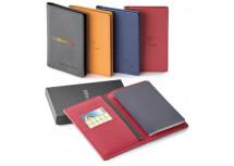 Porte-passeport en cuir véritable avec IDRF