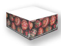 demi-cube de papier