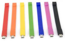 clé usb - bracelet en silicone