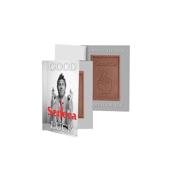 Boîte de chocolat avec logo