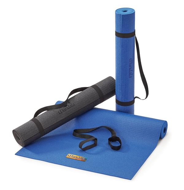 Tapis de yoga PVC texturé