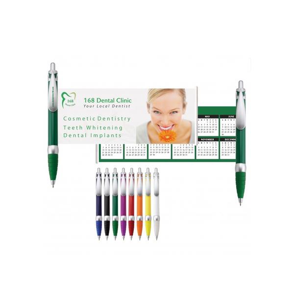 stylo à bille avec bannière