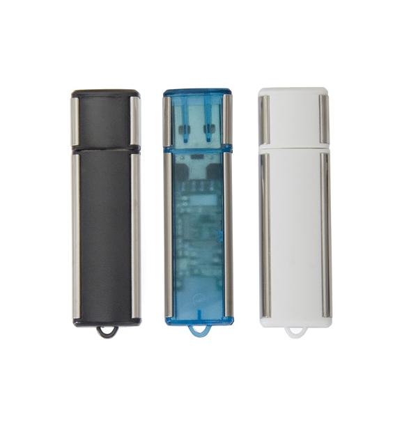 Clé USB - fini plastique et métal