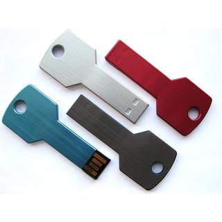PJL-3364 Clé USB en forme de clé, aluminium