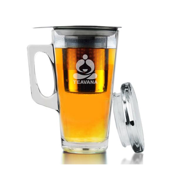 tasse avec infuseur à thé
