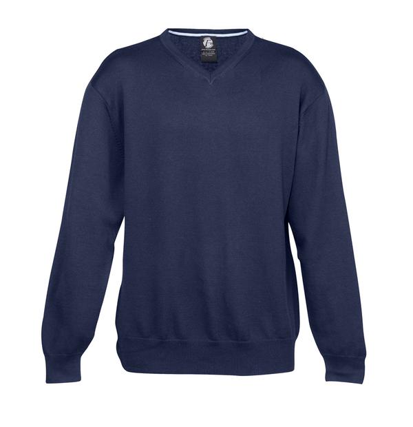 tricot col en V