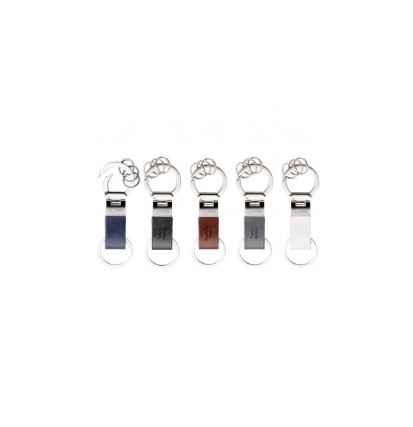 porte-clés en vinyle avec 3 anneaux détachables