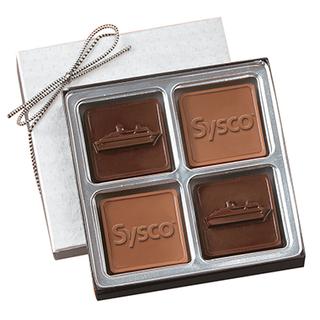 PJL-1234 Boîte de chocolats carrés