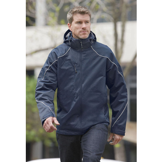 PJL-3911 manteau 3 en 1, contrecollé de molleton