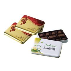 Boite cadeau avec chocolat