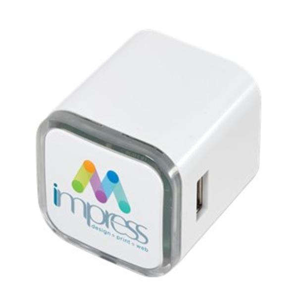 Adaptateur CA USB double