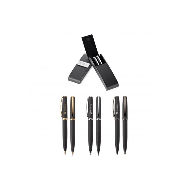 Ensemble stylo à bille et pousse-mines