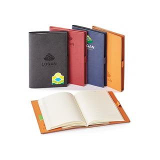 PJL-5184 Journal rechargeable en cuir véritable