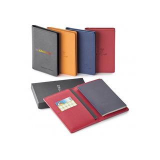 PJL-5186 Porte-passeport en cuir véritable avec RFID