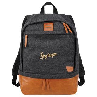PJL-5267 sac à dos en laine pour ordinateur 15po