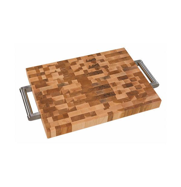 bloc à dépecer en bois canadien