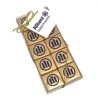 PJL-5373 boîte de vingt chocolats carrés