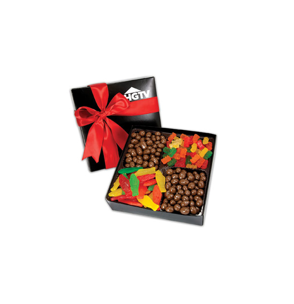 boîte gourmet de bonbon et chocolat