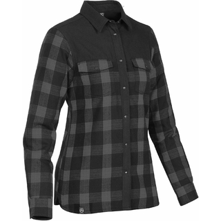 PJL-5414F chemise à carreaux doublée de molleton