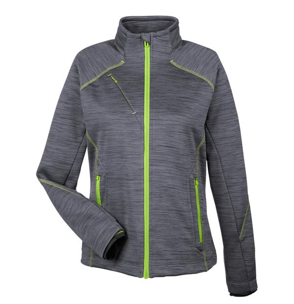 manteau texturé en molleton contrecollé