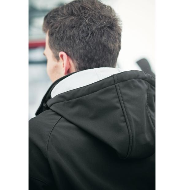 manteau respirant et résistant à l