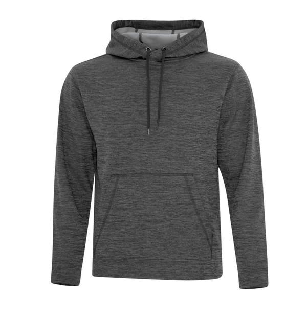 Hoodie chiné (polyester)
