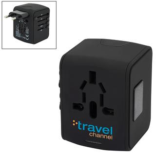 PJL-5916 Adaptateur de voyage à 4 ports USB