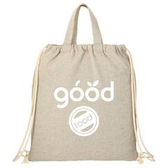 Sac fourre-tout/sac à dos en coton recyclé