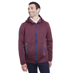 Manteau chiné extensible homme