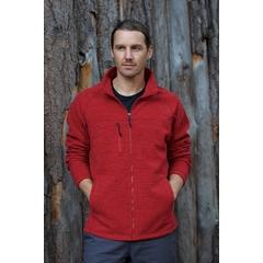 Veste en tricot avec fermeture éclair