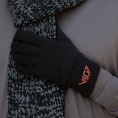 Gant en tricot