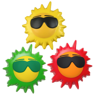 PJL-008 balle anti-stress en forme de soleil
