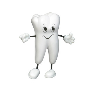 PJL-021 balle anti-stress en forme de dent