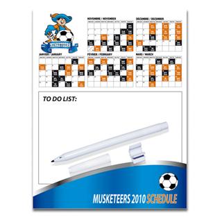 PJL-1802 écritoire magnétique : 8-1/2'' x 11''