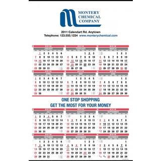PJL-294 calendrier mural 12 mois