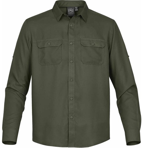 chemise avec poches poitrine à rabat